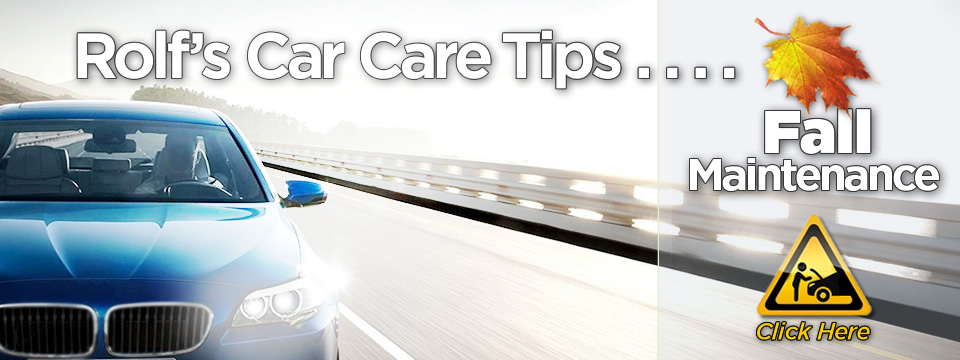 Rolf's Summer Car Care Tips